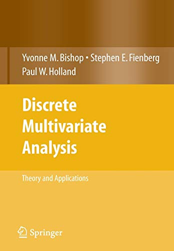 9780387728056: Discrete Multivariate Analysis: Theory and Practice