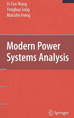9780387728520: Modern Power Systems Analysis (Power Electronics and Power Systems)