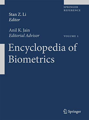 9780387730035: Encyclopedia of Biometric Recognition