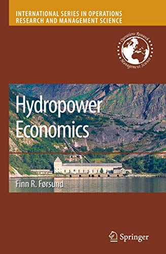 Hydropower Economics (International Series in Operations Research & Management Science): ...