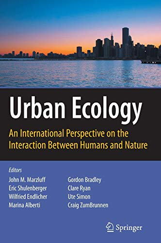 9780387734118: Urban Ecology: An International Perspective on the Interaction Between Humans and Nature