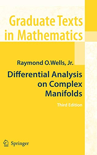 9780387738918: Differential Analysis on Complex Manifolds