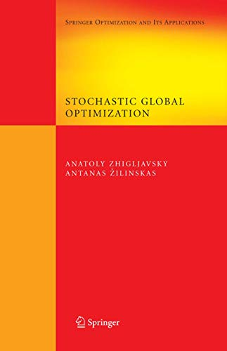 9780387740225: Stochastic Global Optimization (Springer Optimization and Its Applications)