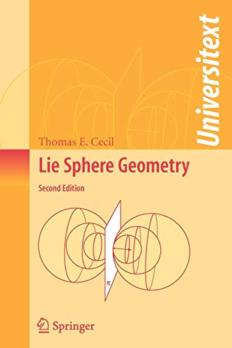 9780387746555: Lie Sphere Geometry: With Applications to Submanifolds (Universitext)