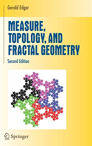 9780387747484: Measure, Topology, and Fractal Geometry (Undergraduate Texts in Mathematics)
