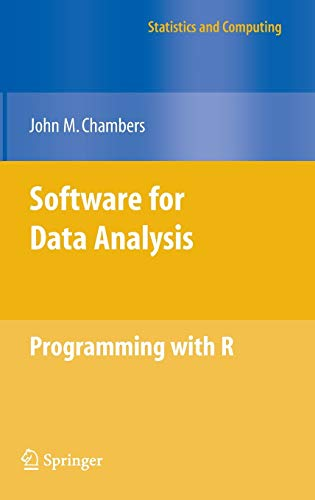 Software for Data Analysis: Programming with R (Statistics and Computing) (0387759352) by John M. Chambers
