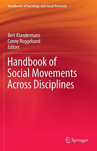 9780387765808: Handbook of Social Movements Across Disciplines (Handbooks of Sociology and Social Research)
