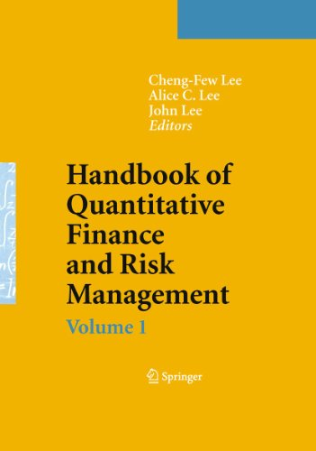 9780387771168: Handbook of Quantitative Finance and Risk Management (v. 1-3)