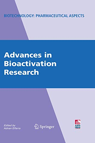 Advances in Bioactivation Research: Adnan Elfarra