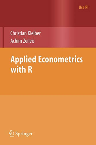 9780387773162: Applied Econometrics with R (Use R!)
