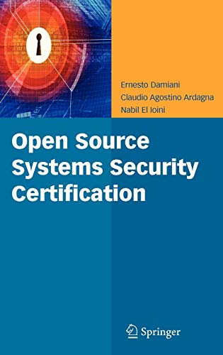 9780387773230: Open Source Systems Security Certification
