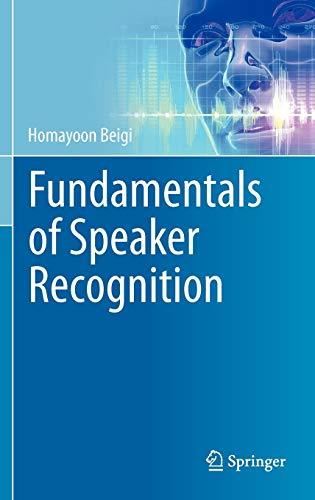 9780387775913: Fundamentals of Speaker Recognition