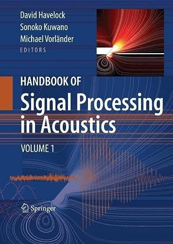Handbook of Signal Processing in Acoustics, 2-Volume Set (Hardcover): Havelock