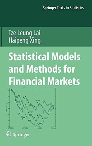 9780387778266: Statistical Models And Methods For Financial Markets