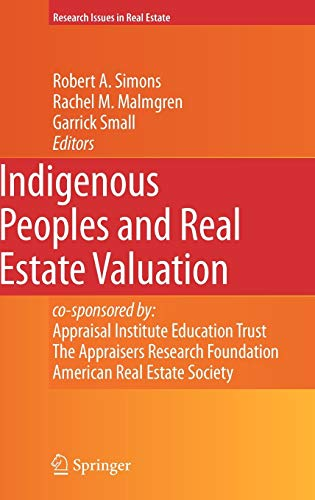 9780387779379: Indigenous Peoples and Real Estate Valuation (Research Issues in Real Estate)