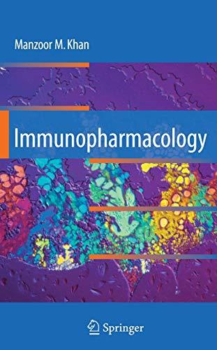 Immunopharmacology: Manzoor M. Khan