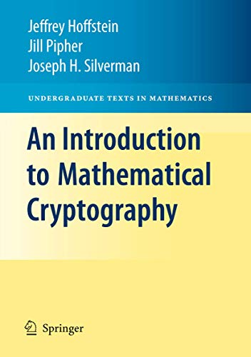 9780387779935: An Introduction to Mathematical Cryptography (Undergraduate Texts in Mathematics)