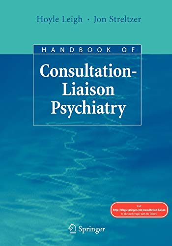 9780387781280: Handbook of Consultation-Liaison Psychiatry