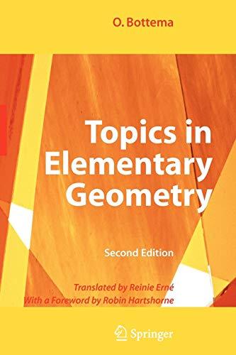 9780387781303: Topics in Elementary Geometry
