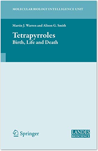 Tetrapyrroles: Martin J. Warren