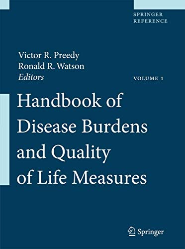 9780387786667: Handbook of Disease Burdens and Quality of Life Measures (Springer Reference)