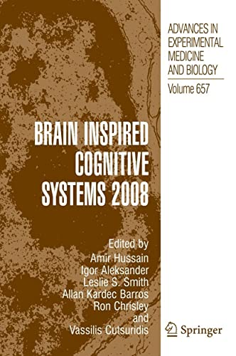 Brain Inspired Cognitive Systems 2008 (Hardback)