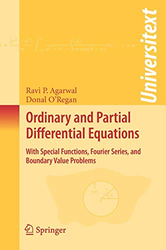 9780387791456: Ordinary and Partial Differential Equations: With Special Functions, Fourier Series, and Boundary Value Problems (Universitext)