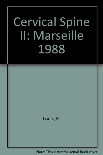 9780387821511: Cervical Spine II: Marseille 1988