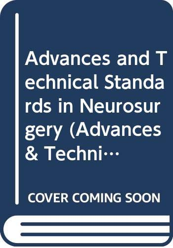 9780387822877: Advances and Technical Standards in Neurosurgery: 019