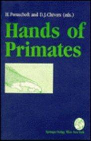 9780387823850: Hands of Primates