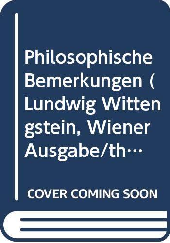 9780387824994: Philosophische Bemerkungen: 1