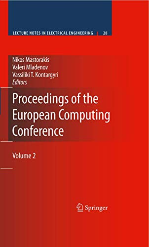 9780387848181: Proceedings of the European Computing Conference: Volume 2 (Lecture Notes in Electrical Engineering)