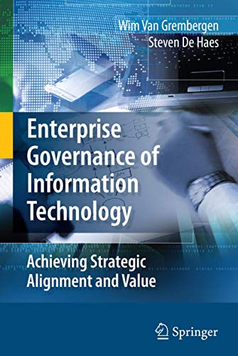 9780387848815: Enterprise Governance of Information Technology: Achieving Strategic Alignment and Value