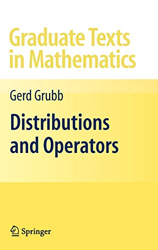9780387848945: Distributions and Operators (Graduate Texts in Mathematics)
