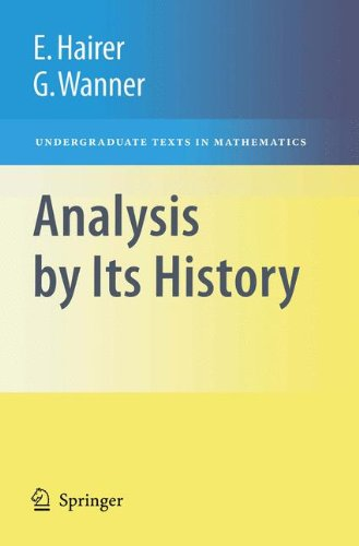 9780387854212: Analysis by Its History (Undergraduate Texts in Mathematics)