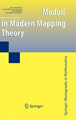 9780387855868: Moduli in Modern Mapping Theory (Springer Monographs in Mathematics)