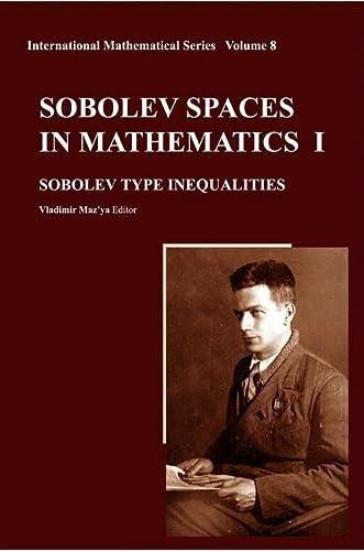 Sobolev Spaces in Mathematics I, II, III: Vladimir Mazya