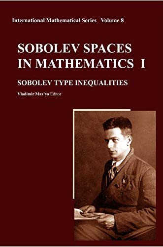 Sobolev Spaces in Mathematics I, II, III: Vladimir Mazya