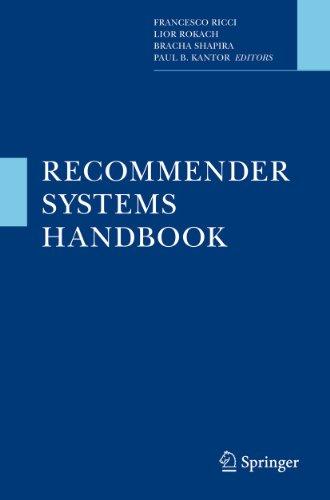 9780387858197: Recommender Systems Handbook