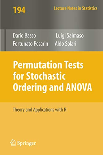 9780387859552: Permutation Tests for Stochastic Ordering and ANOVA: Theory and Applications With R