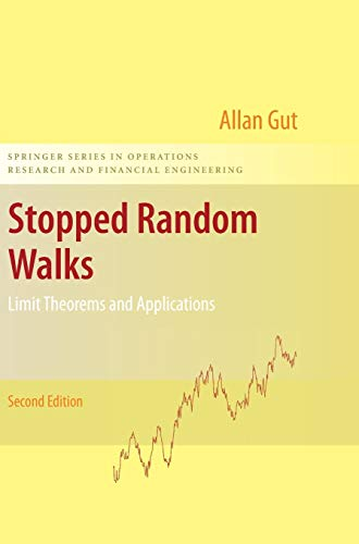 9780387878348: Stopped Random Walks: Limit Theorems and Applications (Springer Series in Operations Research and Financial Engineering)