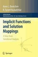 9780387879451: Implicit Functions and Solution Mappings