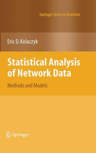 9780387881454: Statistical Analysis of Network Data: Methods and Models (Springer Series in Statistics)