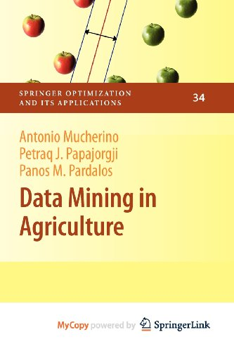 9780387886954: Data Mining in Agriculture