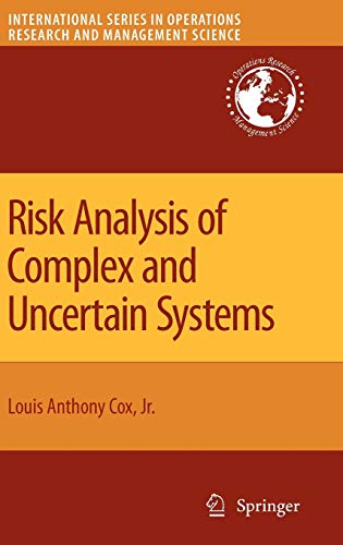 9780387890135: Risk Analysis of Complex and Uncertain Systems (International Series in Operations Research & Management Science): 129