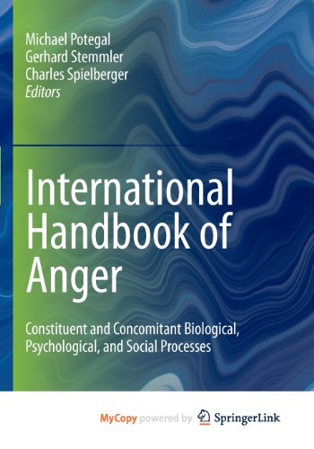 9780387897202: International Handbook of Anger: Constituent and Concomitant Biological, Psychological, and Social Processes