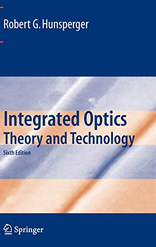 9780387897745: Integrated Optics: Theory and Technology