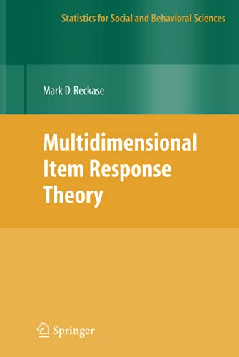 9780387899756: Multidimensional Item Response Theory (Statistics for Social and Behavioral Sciences)
