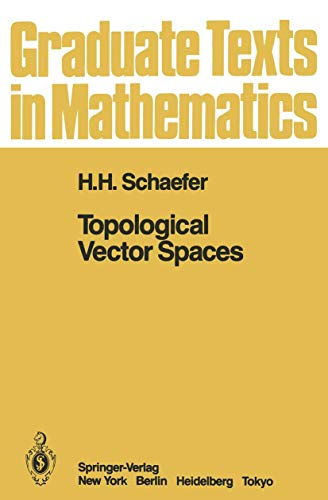 9780387900261: Topological Vector Spaces (Graduate Texts in Mathematics 3)