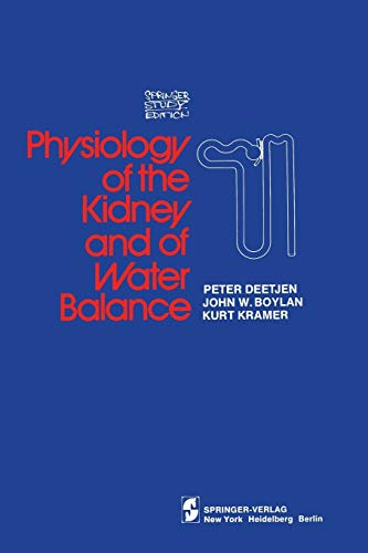 9780387900483: Physiology of the Kidney and of Water Balance (Springer Study Edition)